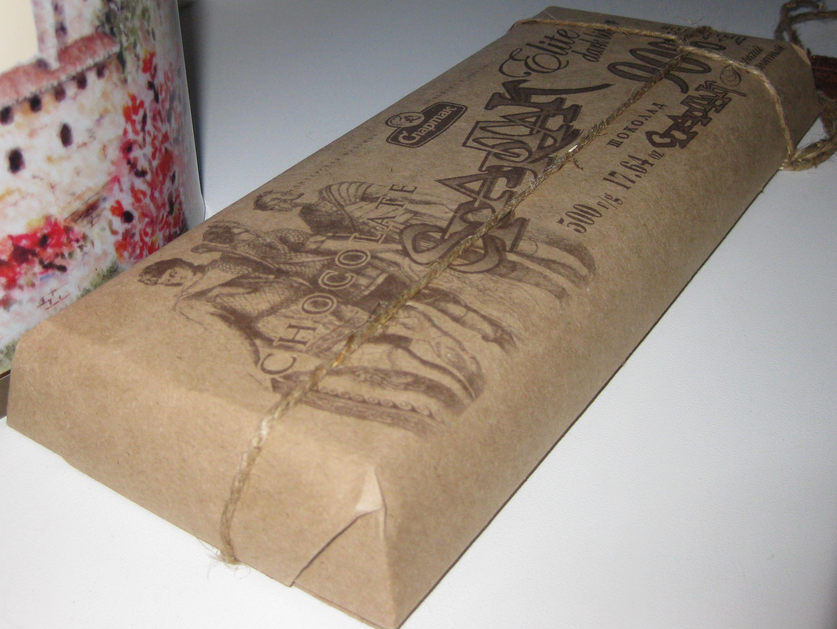Шоколад в упаковке в Шоколадных заметках
