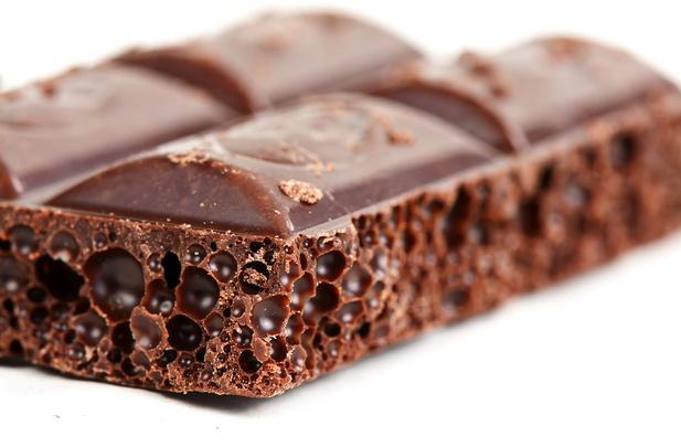 Этот полезный чёрный шоколад... Автор фото: Руслан Кудрин