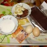 Шоколадный крем - ингредиенты